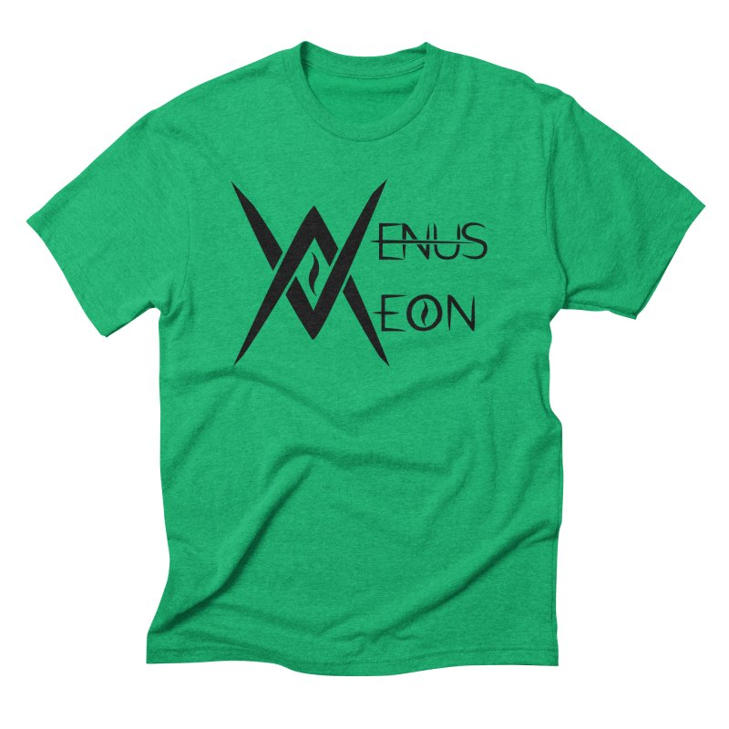 Venus Aeon logo (black) Men's T-Shirt by Venus Aeon (clothing)
