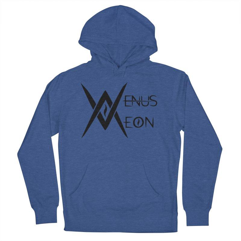 Venus Aeon logo (black) Women's French Terry Pullover Hoody by Venus Aeon (clothing)