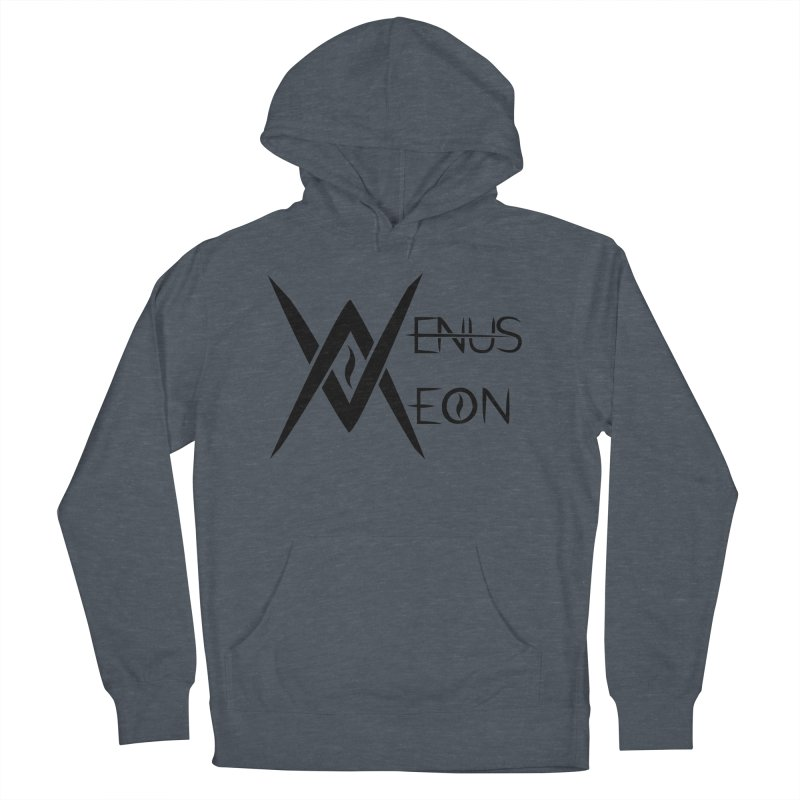 Venus Aeon logo (black) Women's French Terry Pullover Hoody by Venus Aeon (clothing)