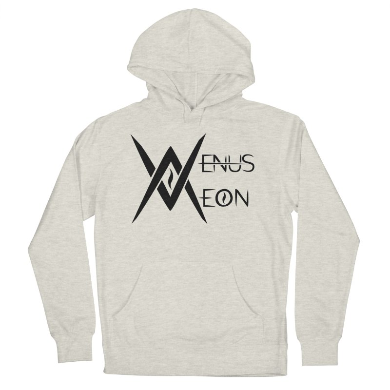 Venus Aeon logo (black) Women's Pullover Hoody by Venus Aeon (clothing)