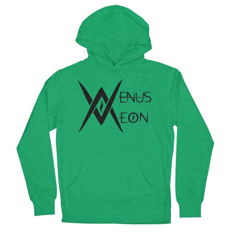 Venus Aeon logo (black) Men's French Terry Pullover Hoody by Venus Aeon (clothing)
