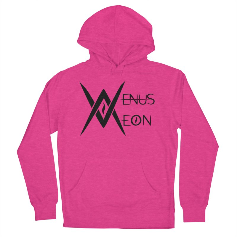 Venus Aeon logo (black) Men's French Terry Pullover Hoody by Venus Aeon (clothing)