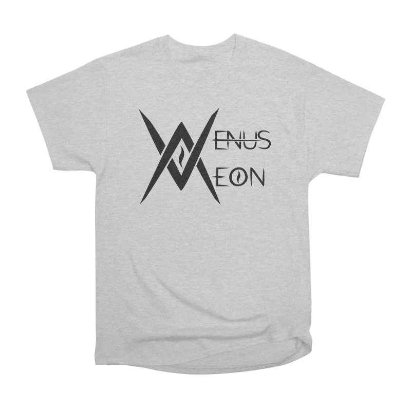 Venus Aeon logo (black) Men's Heavyweight T-Shirt by Venus Aeon (clothing)
