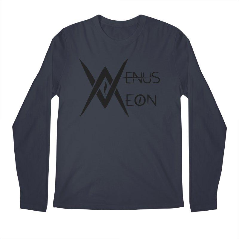 Venus Aeon logo (black) Men's Regular Longsleeve T-Shirt by Venus Aeon (clothing)