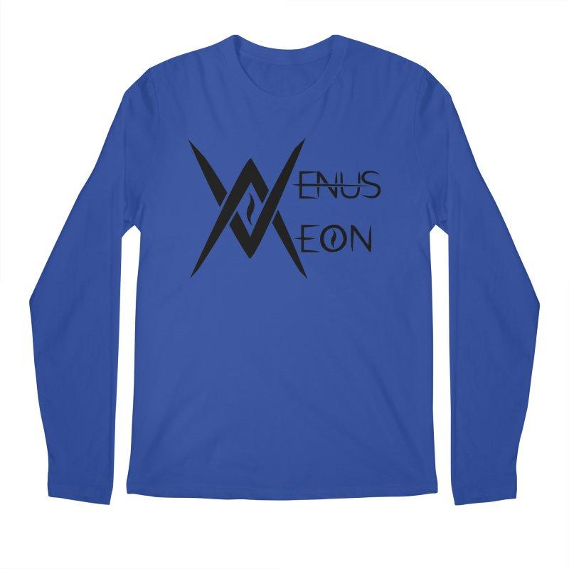 Venus Aeon logo (black) Men's Longsleeve T-Shirt by Venus Aeon (clothing)