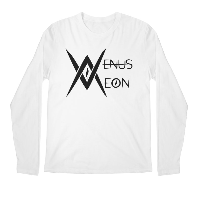 Venus Aeon logo (black) Men's Regular Longsleeve T-Shirt by Venus Aeon (clothing)