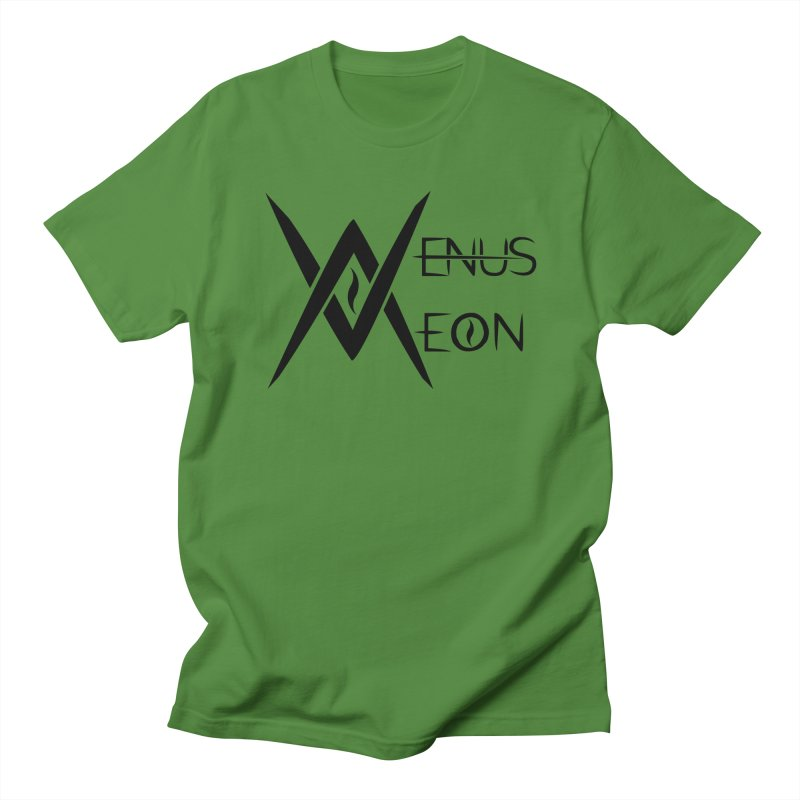 Venus Aeon logo (black) Women's Unisex T-Shirt by Venus Aeon (clothing)