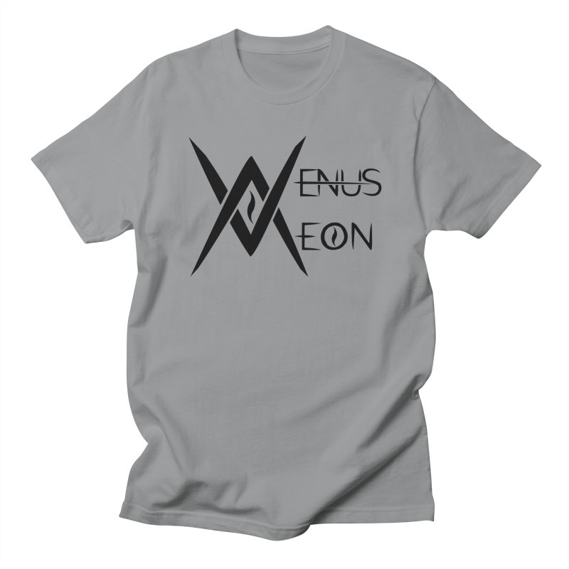 Venus Aeon logo (black) Men's T-Shirt by Venus Aeon (clothing)