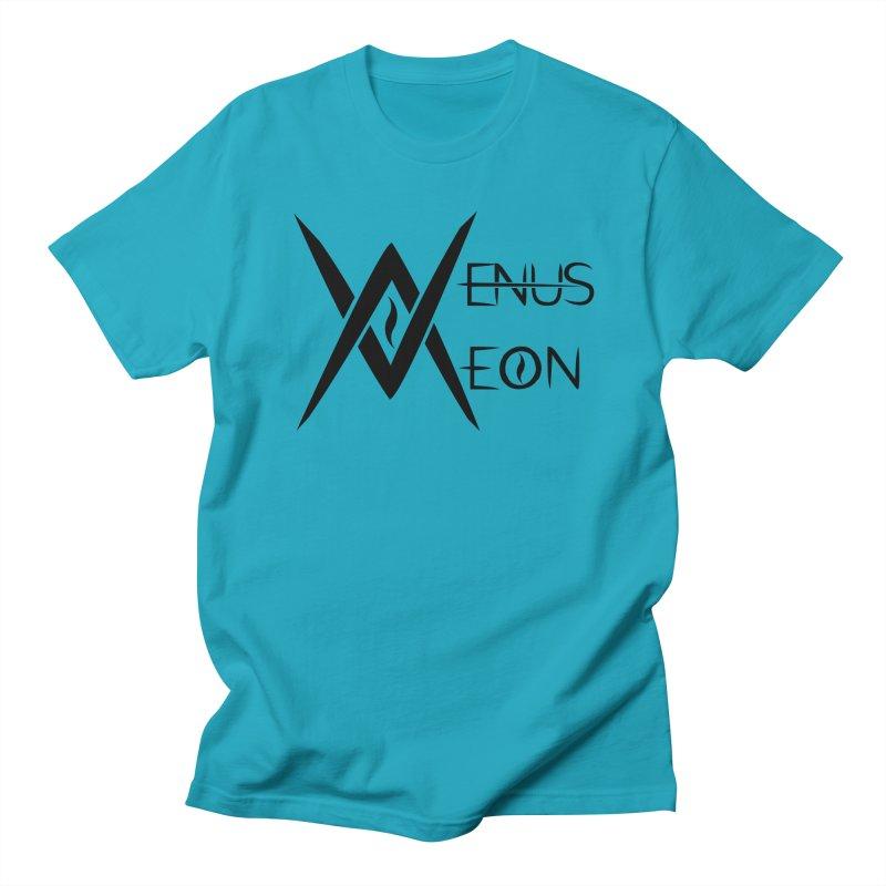 Venus Aeon logo (black) Women's Unisex T-Shirt by Venus Aeon (clothing)