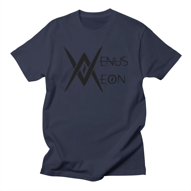 Venus Aeon logo (black) Men's Regular T-Shirt by Venus Aeon (clothing)