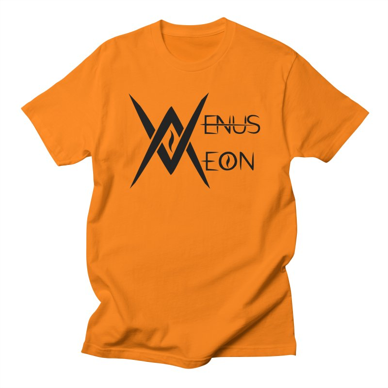 Venus Aeon logo (black) Women's Regular Unisex T-Shirt by Venus Aeon (clothing)