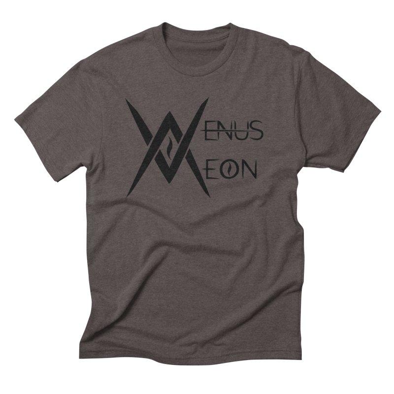 Venus Aeon logo (black) Men's Triblend T-Shirt by Venus Aeon (clothing)