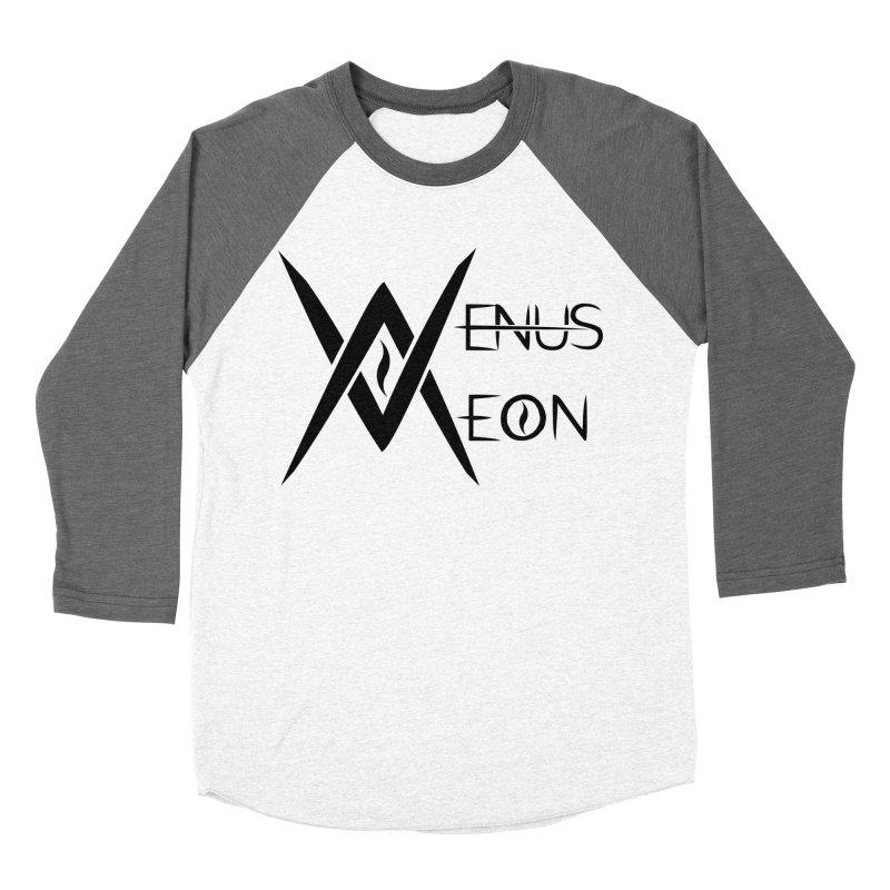 Venus Aeon logo (black) Men's Baseball Triblend T-Shirt by Venus Aeon (clothing)