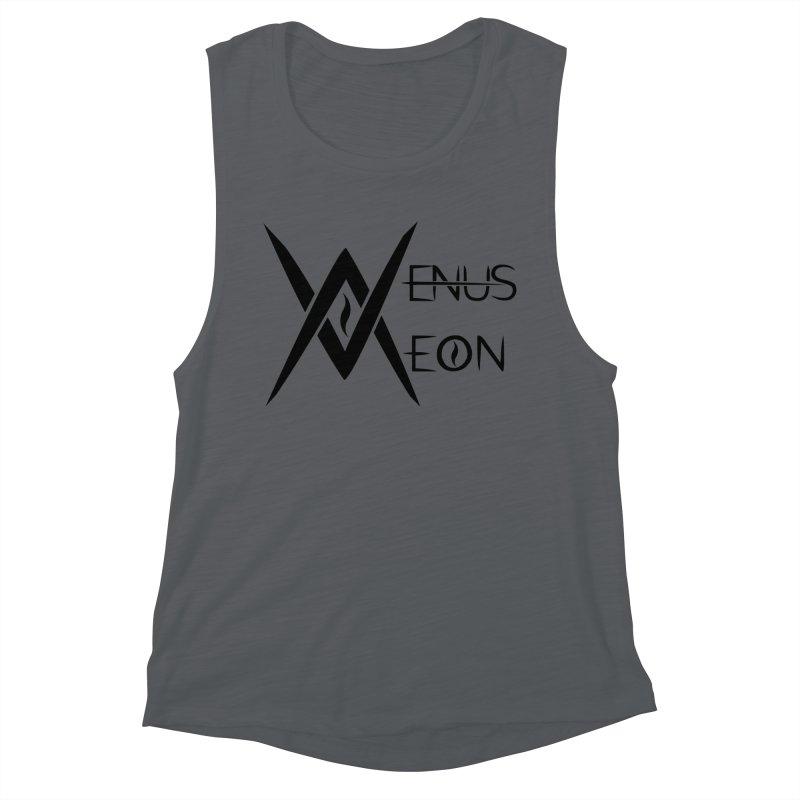 Venus Aeon logo (black) Women's Tank by Venus Aeon (clothing)