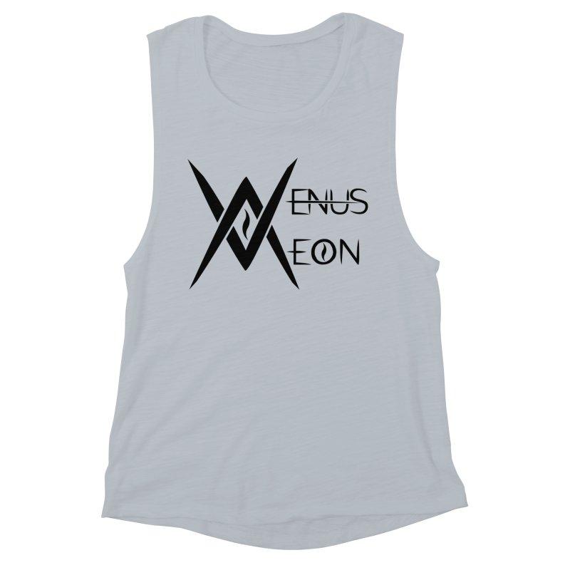 Venus Aeon logo (black) Women's Muscle Tank by Venus Aeon (clothing)