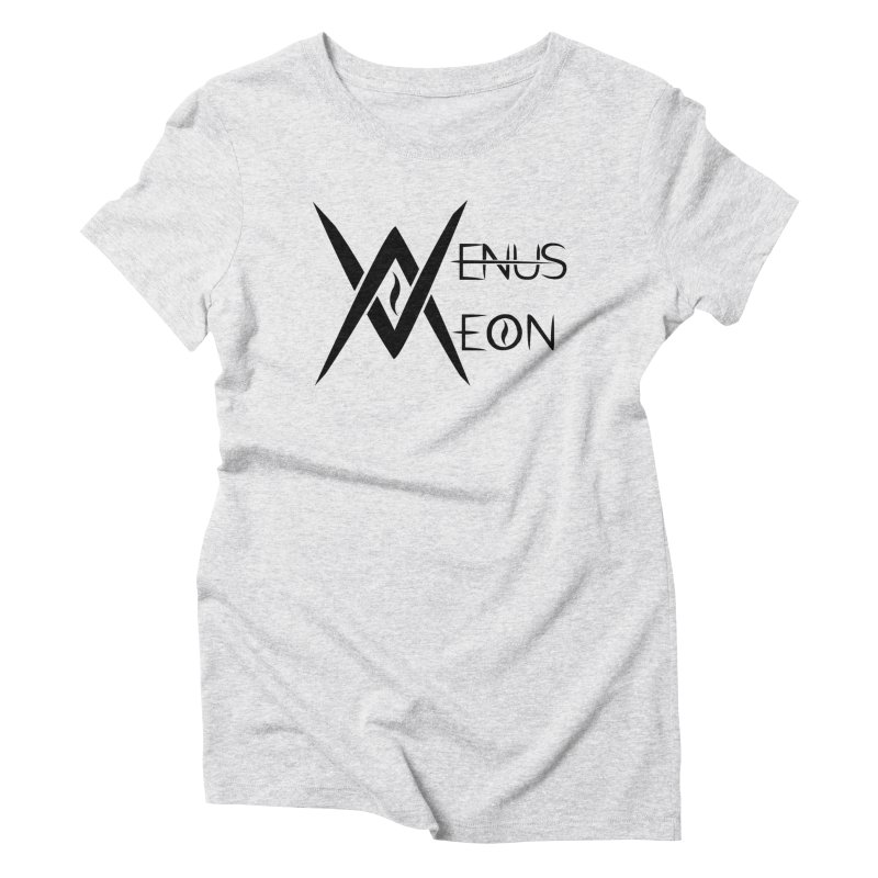 Venus Aeon logo (black) Women's T-Shirt by Venus Aeon (clothing)