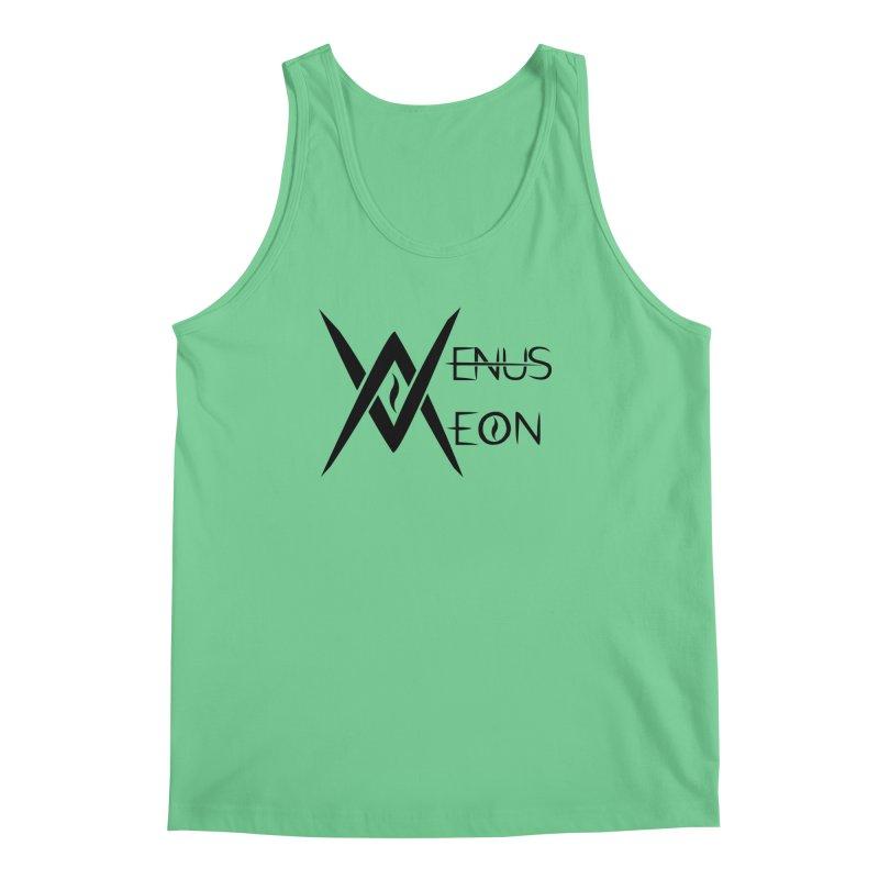 Venus Aeon logo (black) Men's Regular Tank by Venus Aeon (clothing)