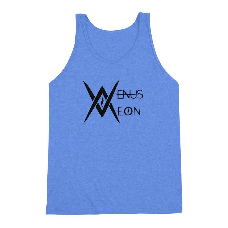 Venus Aeon logo (black) Men's Triblend Tank by Venus Aeon (clothing)