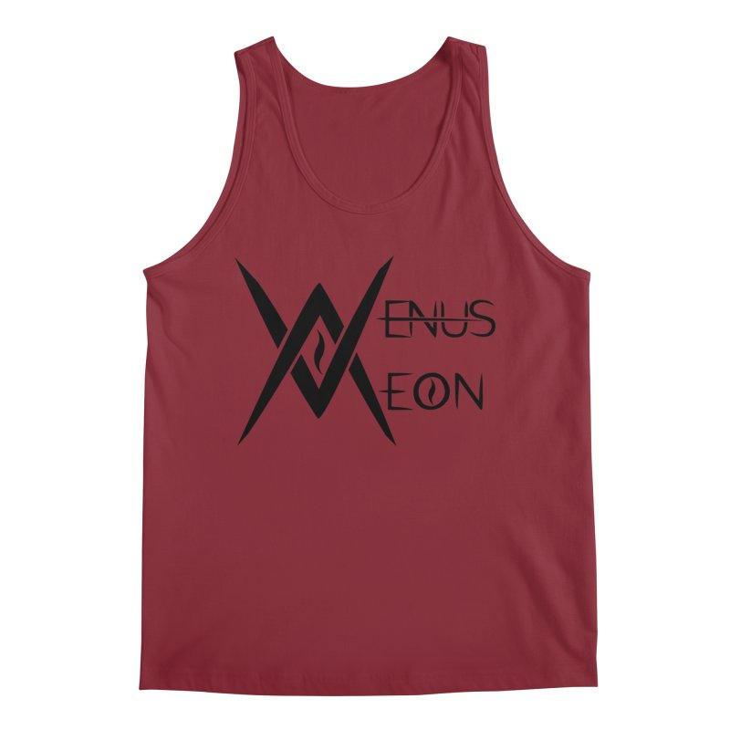Venus Aeon logo (black) Men's Tank by Venus Aeon (clothing)
