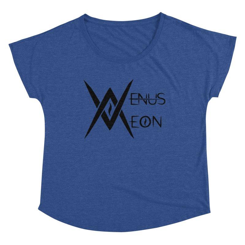 Venus Aeon logo (black) Women's Scoop Neck by Venus Aeon (clothing)