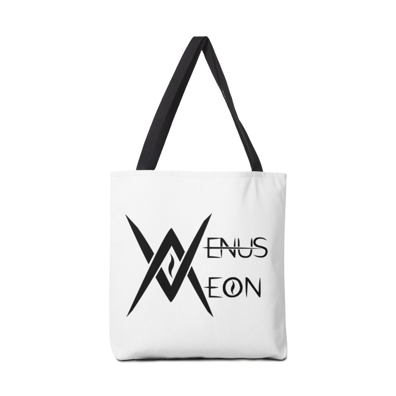Venus Aeon logo (black) Accessories Tote Bag Bag by Venus Aeon (clothing)