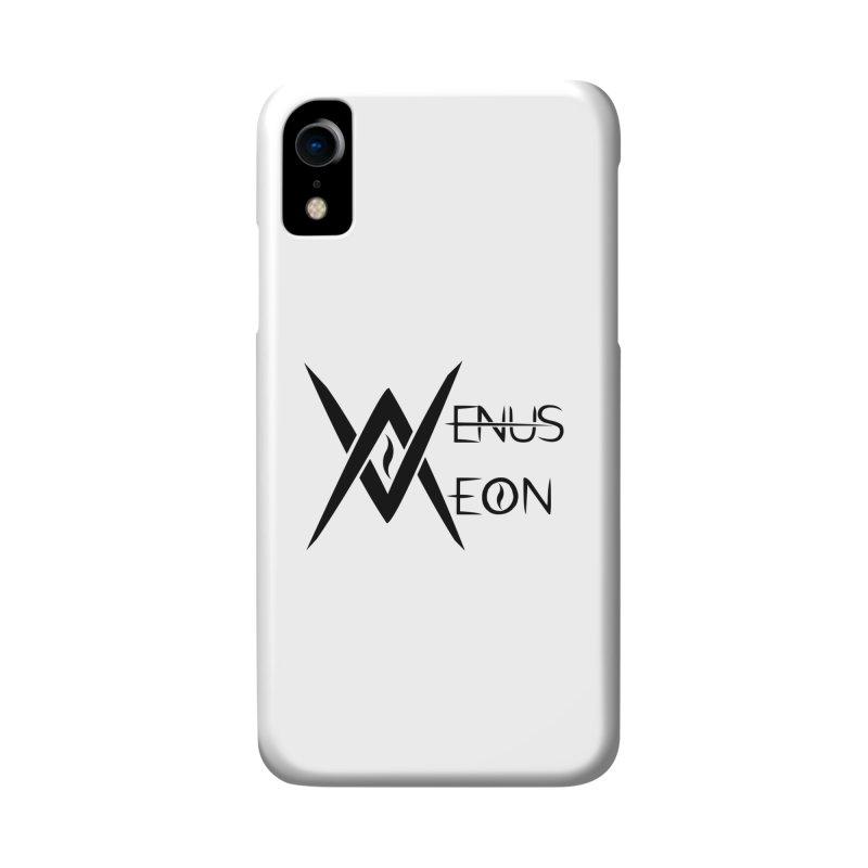 Venus Aeon logo (black) Accessories Phone Case by Venus Aeon (clothing)