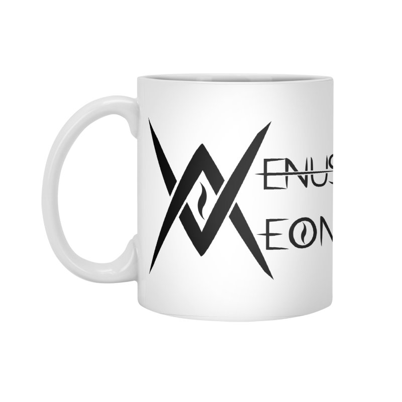 Venus Aeon logo (black) Accessories Standard Mug by Venus Aeon (clothing)