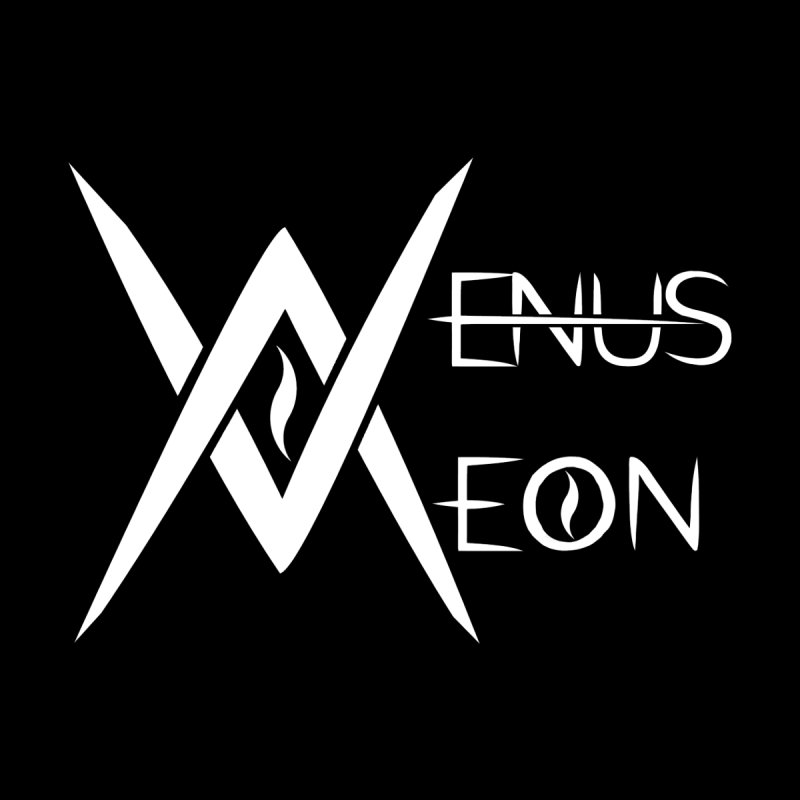 Venus Aeon logo (white) Women's Scoop Neck by Venus Aeon (clothing)
