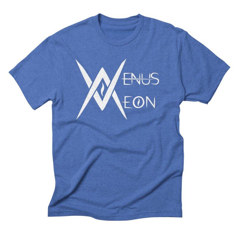 Venus Aeon logo (white) Men's T-Shirt by Venus Aeon (clothing)