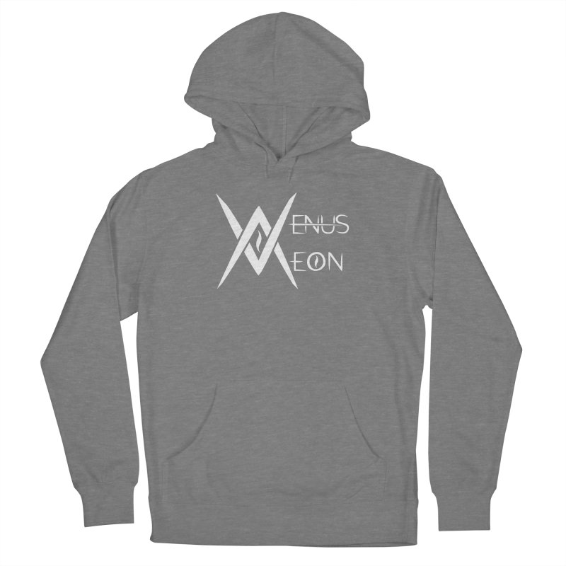 Venus Aeon logo (white) Women's Pullover Hoody by Venus Aeon (clothing)