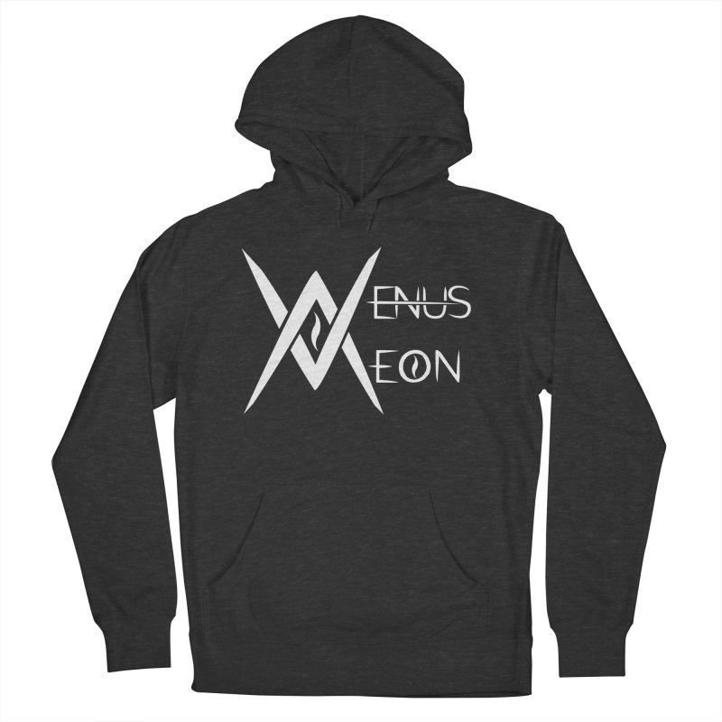 Venus Aeon logo (white) Women's French Terry Pullover Hoody by Venus Aeon (clothing)