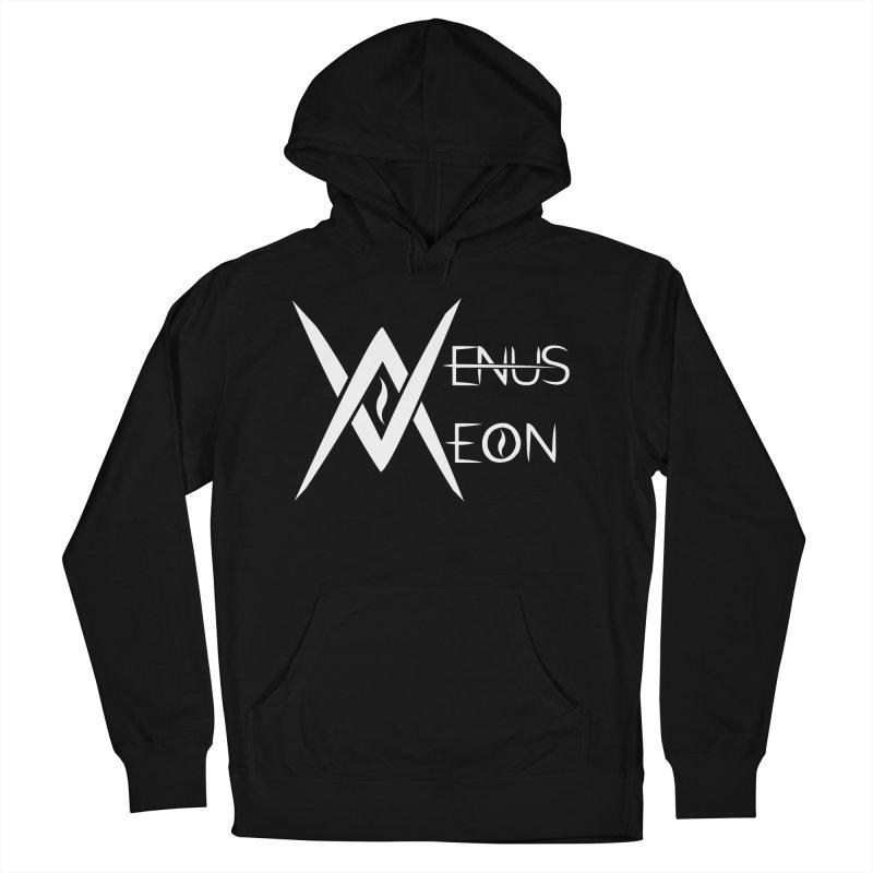 Venus Aeon logo (white) Women's French Terry Pullover Hoody by Venus Aeon (clothing)