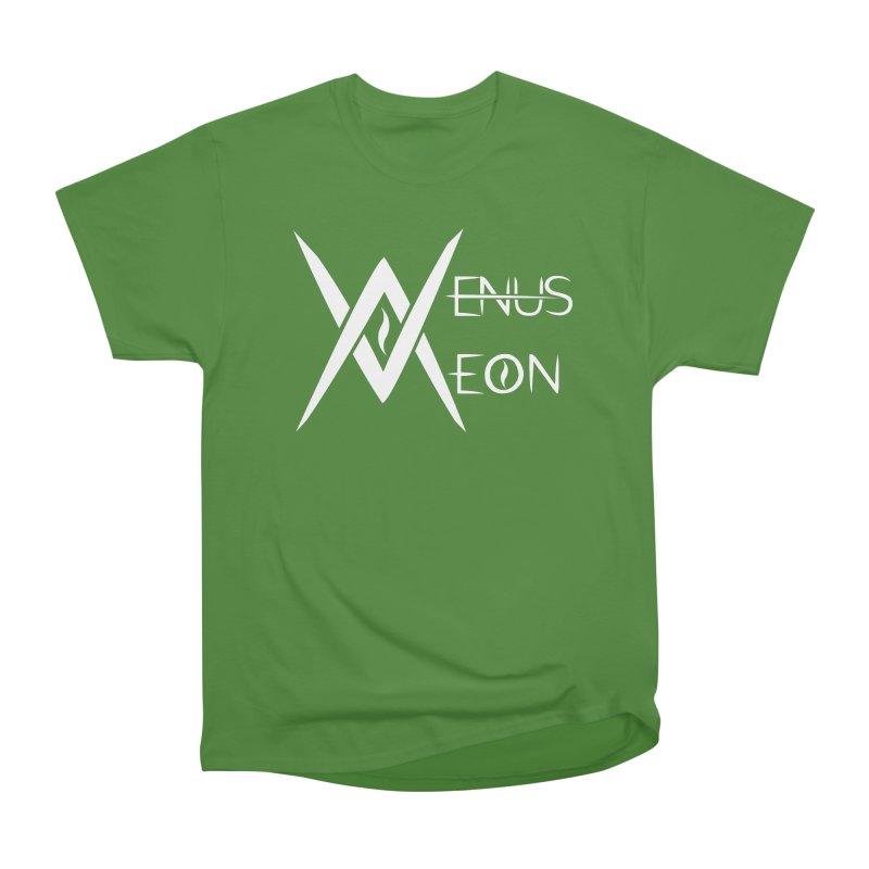 Venus Aeon logo (white) Women's Classic Unisex T-Shirt by Venus Aeon (clothing)