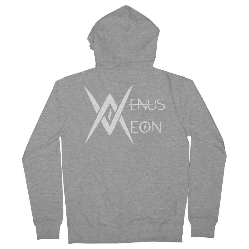 Venus Aeon logo (white) Women's Zip-Up Hoody by Venus Aeon (clothing)