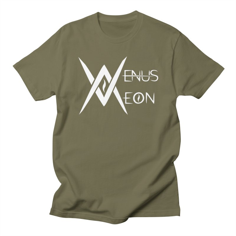 Venus Aeon logo (white) Men's Regular T-Shirt by Venus Aeon (clothing)