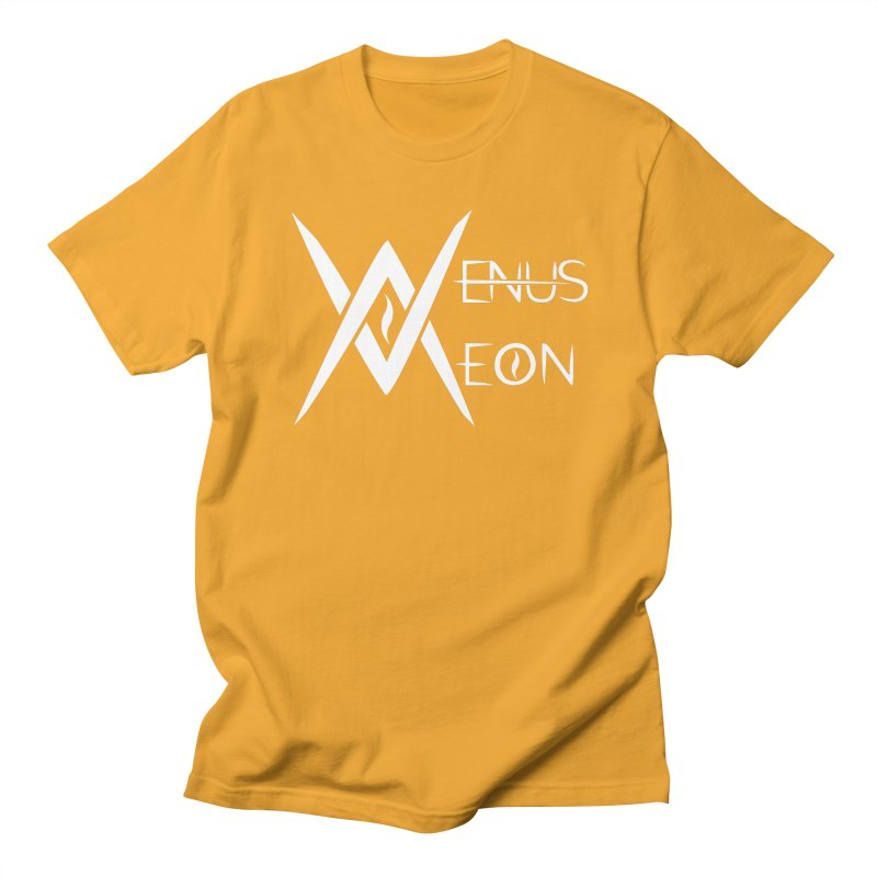 Venus Aeon logo (white) Women's Unisex T-Shirt by Venus Aeon (clothing)
