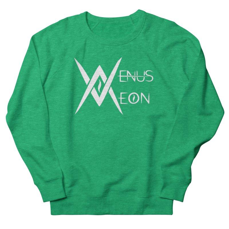 Venus Aeon logo (white) Women's French Terry Sweatshirt by Venus Aeon (clothing)