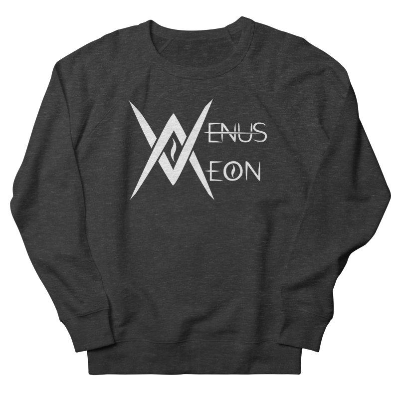 Venus Aeon logo (white) Men's Sweatshirt by Venus Aeon (clothing)