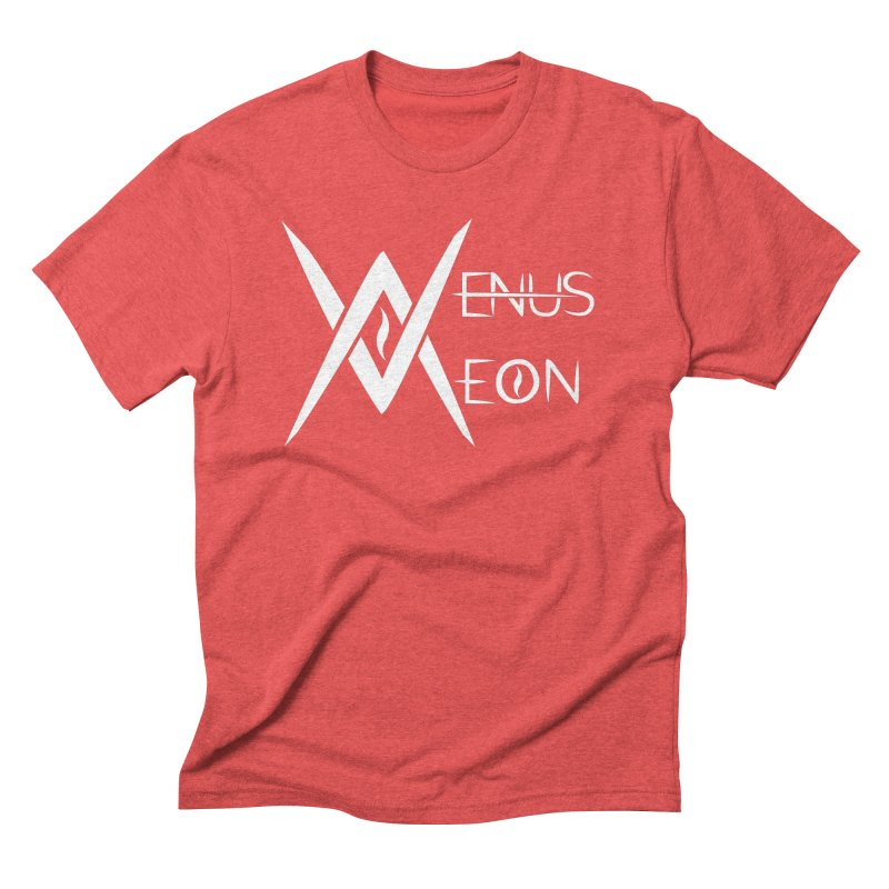 Venus Aeon logo (white) Men's Triblend T-Shirt by Venus Aeon (clothing)