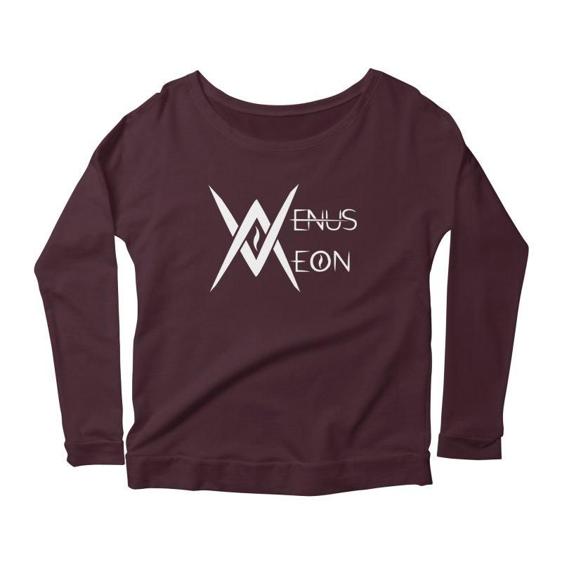 Venus Aeon logo (white) Women's Longsleeve T-Shirt by Venus Aeon (clothing)