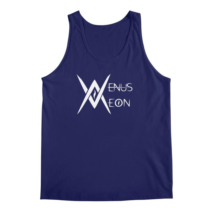 Venus Aeon logo (white) Men's Regular Tank by Venus Aeon (clothing)
