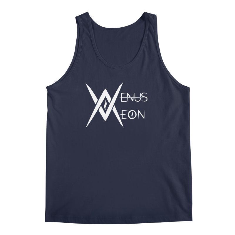 Venus Aeon logo (white) Men's Tank by Venus Aeon (clothing)