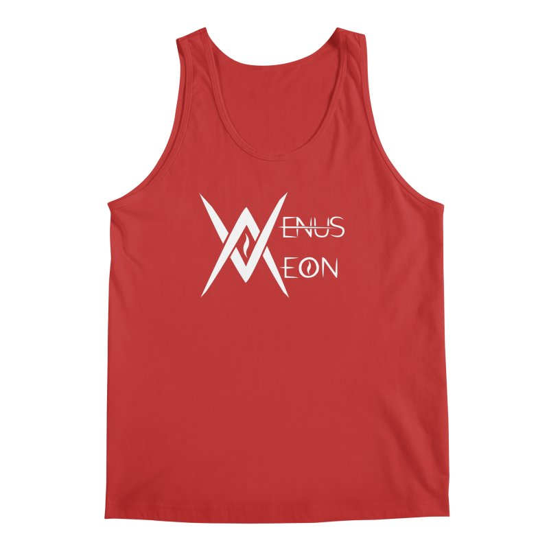 Venus Aeon logo (white) Men's Regular Tank by Venus Aeon (clothing)
