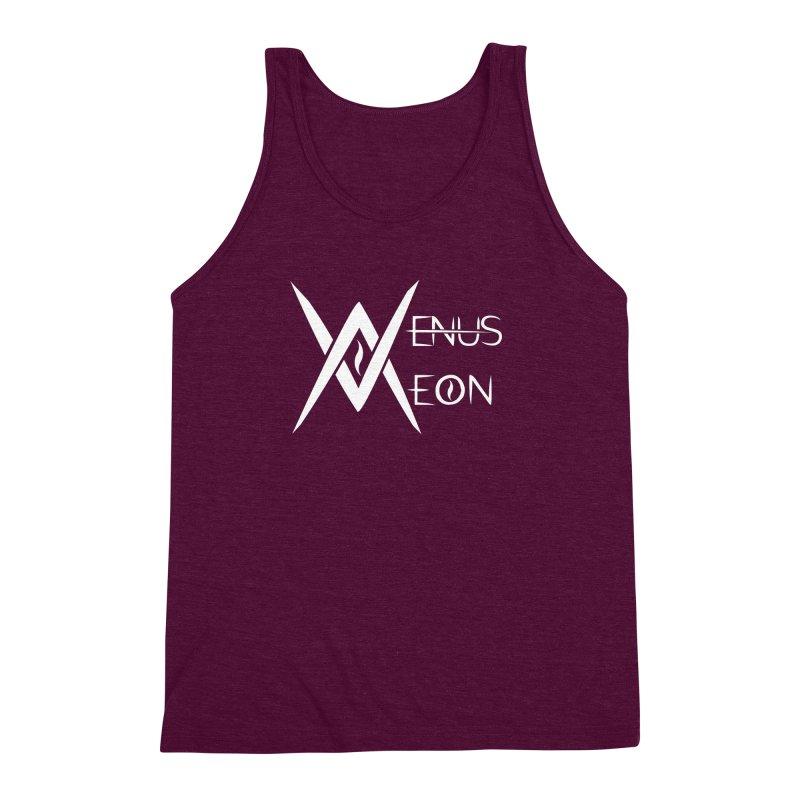 Venus Aeon logo (white) Men's Triblend Tank by Venus Aeon (clothing)