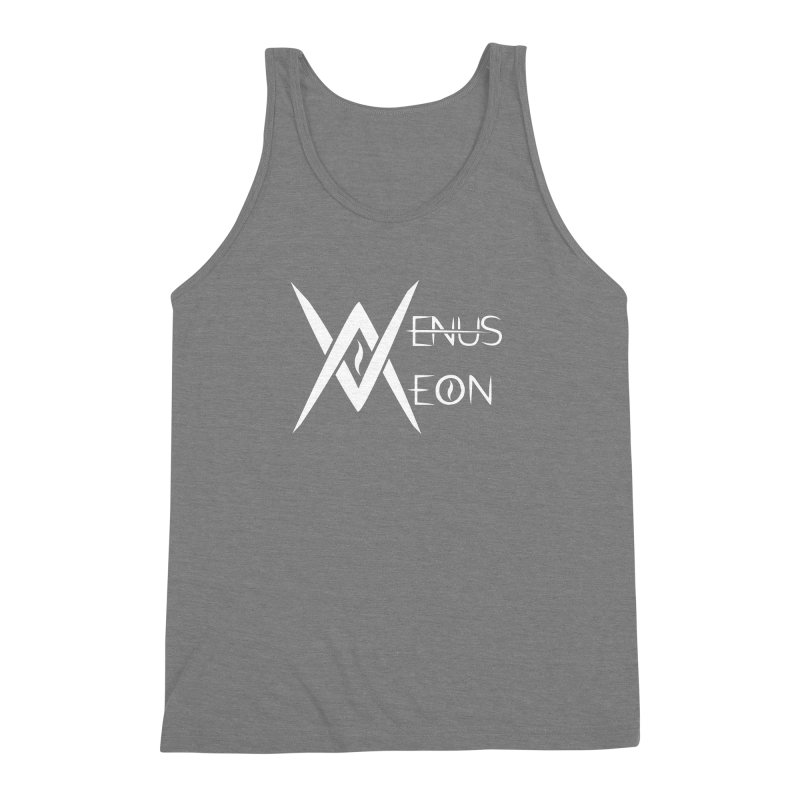 Venus Aeon logo (white) Men's Triblend Tank by Venus Aeon (clothing)