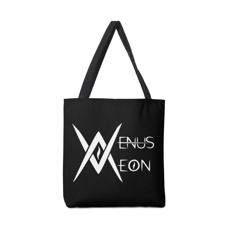 Venus Aeon logo (white) Accessories Tote Bag Bag by Venus Aeon (clothing)