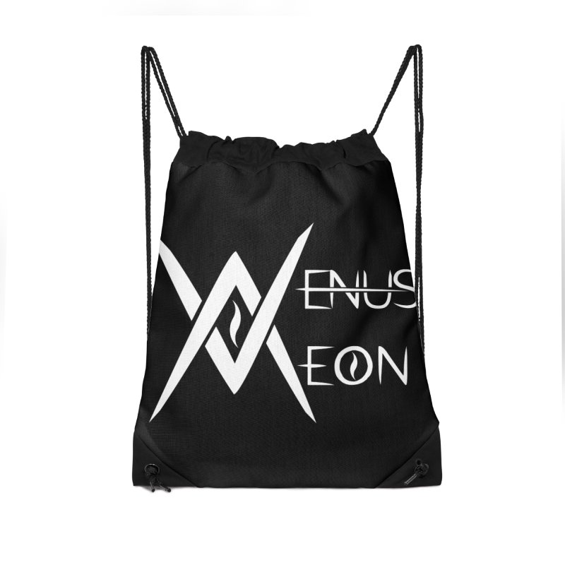Venus Aeon logo (white) Accessories Bag by Venus Aeon (clothing)