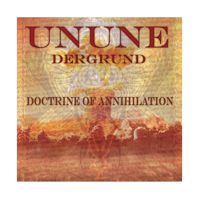 UNUNE - The Doctrine of Annihilation Accessories Water Bottle by Venus Aeon (clothing)
