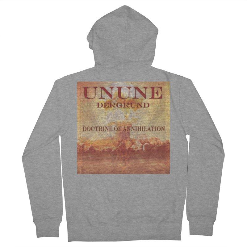 UNUNE - The Doctrine of Annihilation Women's Zip-Up Hoody by Venus Aeon (clothing)