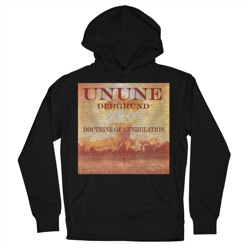 UNUNE - The Doctrine of Annihilation Men's French Terry Pullover Hoody by Venus Aeon (clothing)
